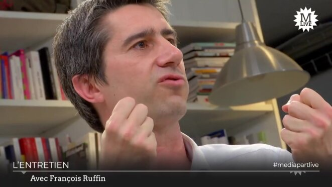 François Ruffin. © Mediapart