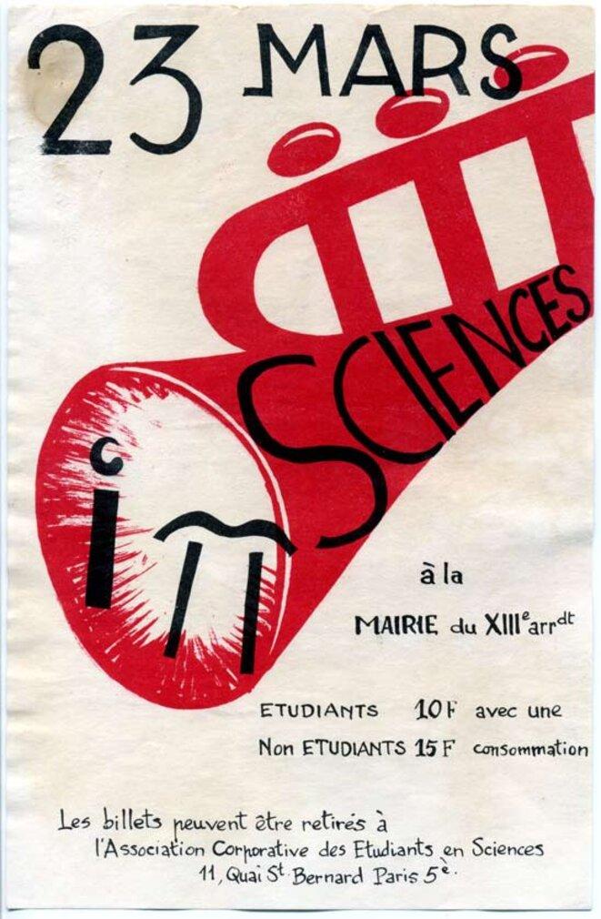 Concert le lendemain du 22 mars. I Π  Sciences © L'association corporative des étudiants en sciences