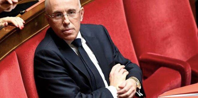 Le député des Alpes-Maritimes Éric Ciotti, à l'Assemblée nationale. © Reuters