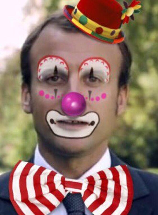 macron-clown