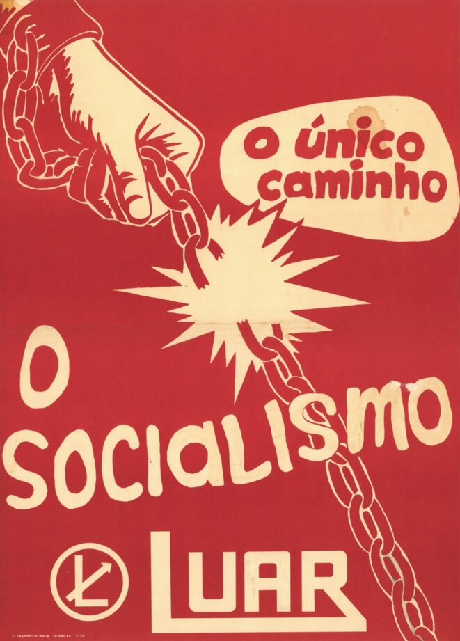 Affiche de la LUAR, 1974