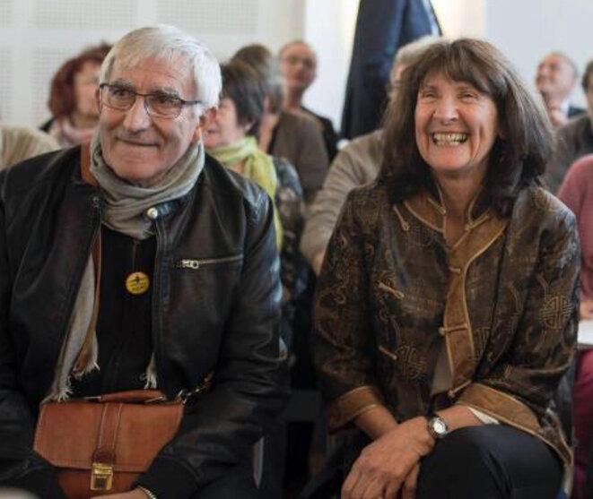 Julien Durand et Françoise Verchère