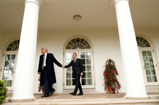 À la Maison Blanche. © Reuters