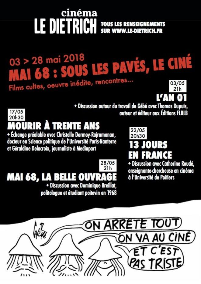 Mai 68 : sous les pavés, le ciné