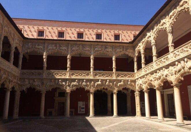 Palais de l'Infantado, cloître des lions, Guadalajara © DR
