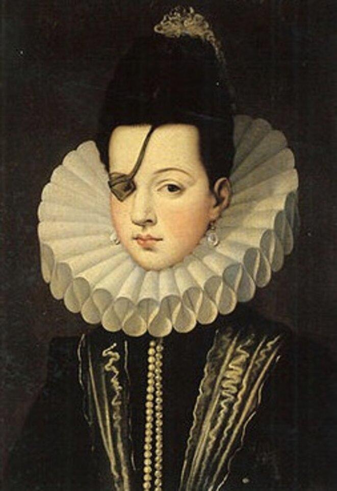 Ana de Mendoza y de la Cerda, première duchesse de Pastrana © DR