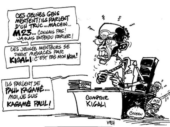 UN ENNEMI DU CONGO NOMMÉ PAUL KAGAME, MAÎTRE AUTORITAIRE DU RÉGIME HÉGÉMONISTE ET EXPANSIONNISTE TUTSI A KIGALI, CRIMINEL (CONTRE)GÉNOCIDAIRE DES RWANDAIS ET CONGOLAIS ENCORE NON RECONNU PAR LA CI ! JUSQUE QUAND ? Freddy-mulongo-kagame-2