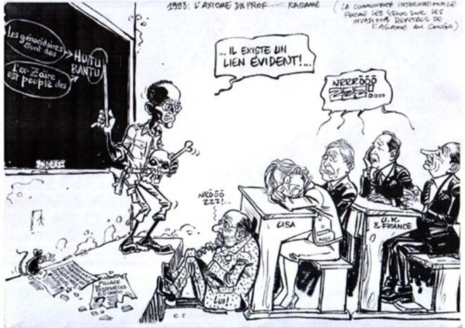 UN ENNEMI DU CONGO NOMMÉ PAUL KAGAME, MAÎTRE AUTORITAIRE DU RÉGIME HÉGÉMONISTE ET EXPANSIONNISTE TUTSI A KIGALI, CRIMINEL (CONTRE)GÉNOCIDAIRE DES RWANDAIS ET CONGOLAIS ENCORE NON RECONNU PAR LA CI ! JUSQUE QUAND ? Freddy-mulongo-kagamehitler