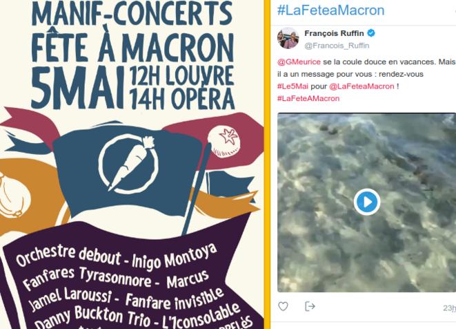 """Fête à Macron © Capture d'écran du site """"le5mai.fr"""""""