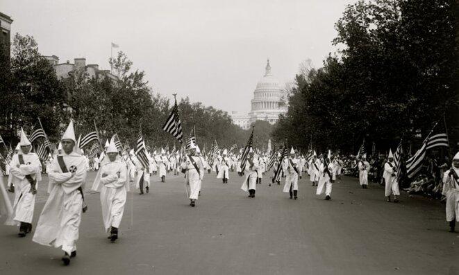 Manifestation du KK en 1922 © Getty images
