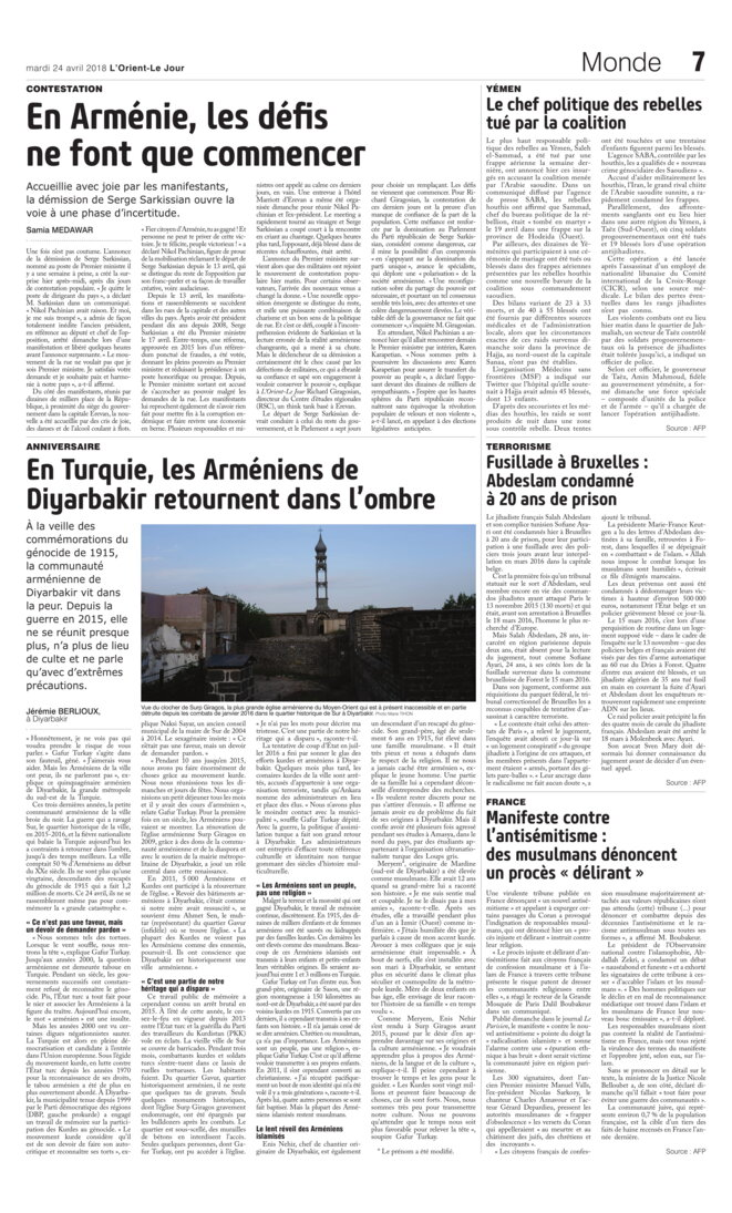 © Jérémie Berlioux / L'Orient le Jour