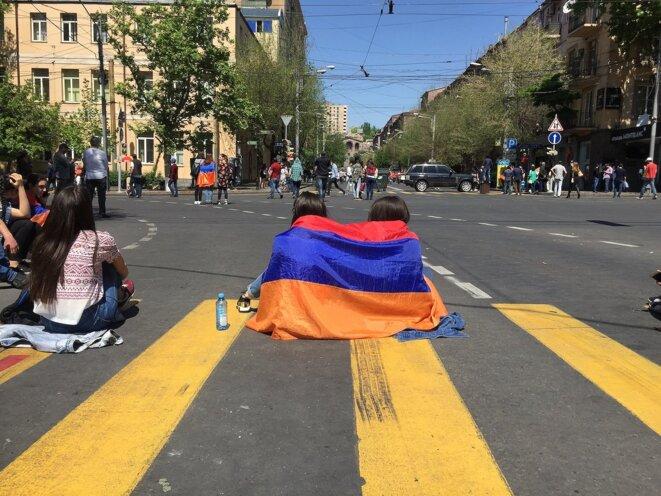 Erevan sans transport. © Tvrain.ru