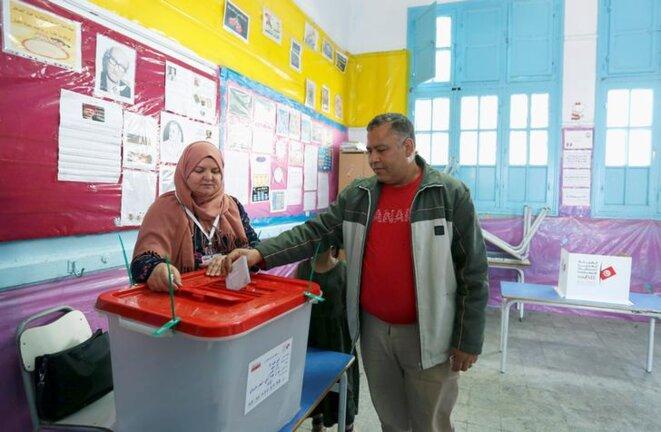 Policiers et militaires étaient appelés à voter dimanche 29 avril. © Reuters