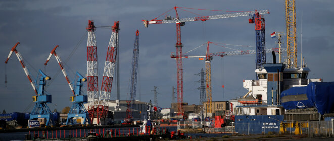 Chantiers de Saint-Nazaire. © Reuters