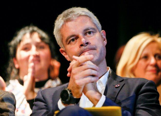 Le président de la Région Auvergne-Rhône-Alpes et de LR Laurent Wauquiez. © Reuters