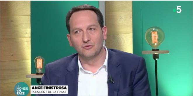 Ange Finistrosa, Président de la FNAT [capture d'écran]