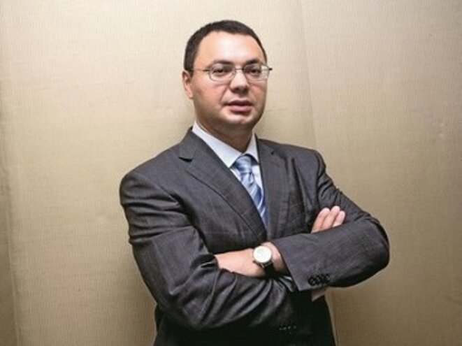 Roman Popov, director of the FCRB bank which lent 9.4 million euros to the FN. © dr