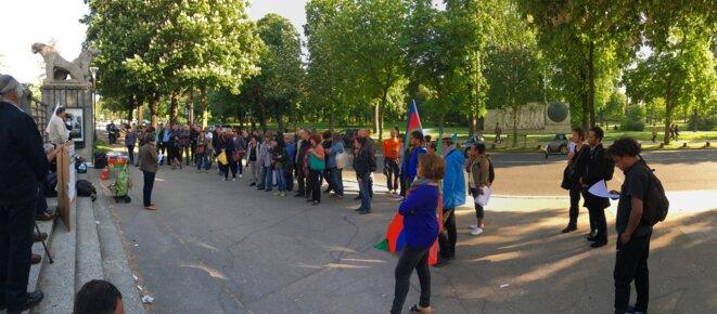 Rassemblement du 4 mai 2018 à Paris © I. Leblic