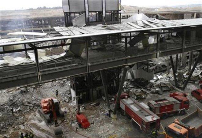 L'aéroport de Madrid-Barajas, où un attentat a été perpétré le 30 décembre 2006. © Reuters