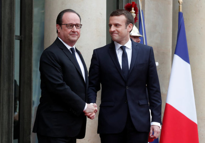 Macron et Hollande