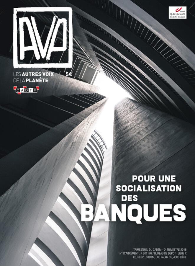Pour une socialisation des banques, AVP, mai 2018 © CADTM