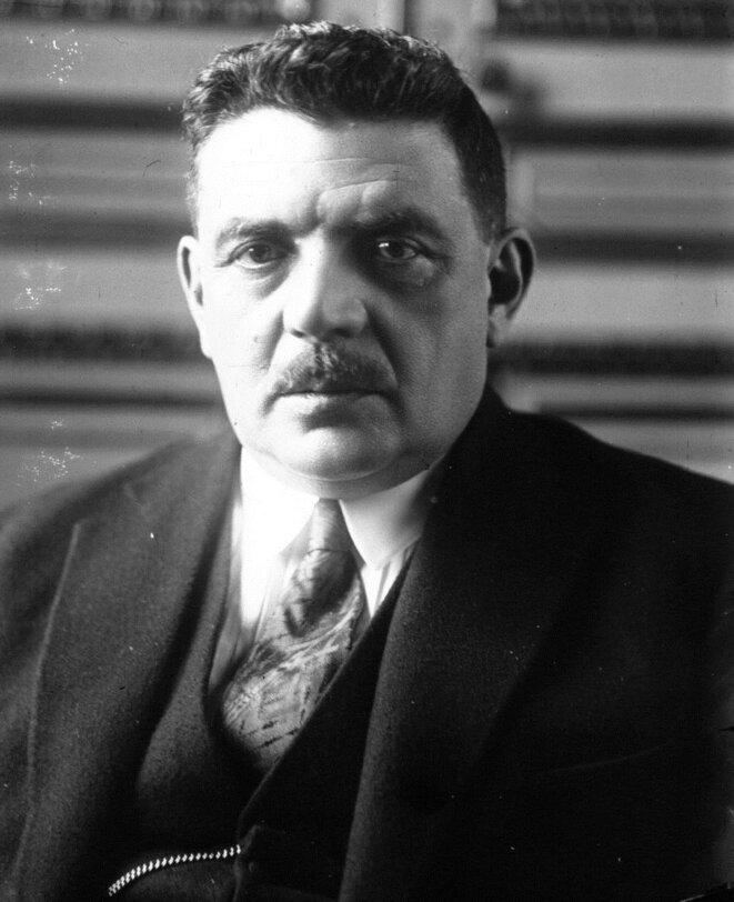Édouard Herriot, membre du Parti radical et figure de la IIIe République.