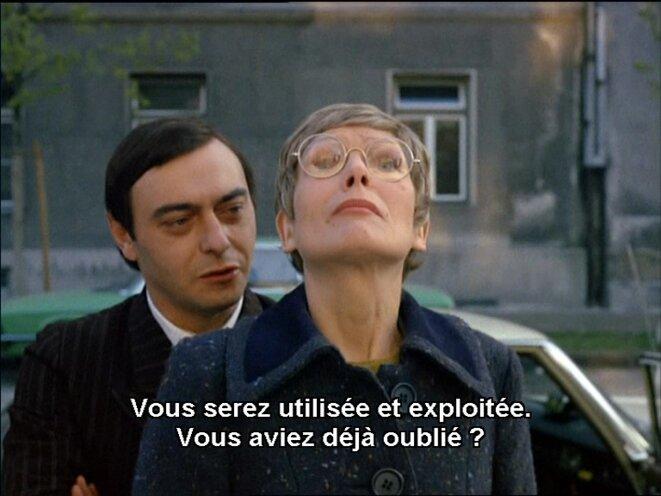 Kranz et son admiratrice, Andrée