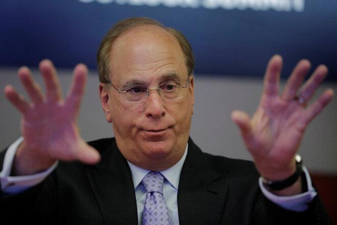 Larry Fink, fondateur et PDG de BlackRock © Reuters.