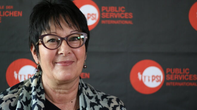 Rosa Pavanelli, secrétaire générale de l'ISP