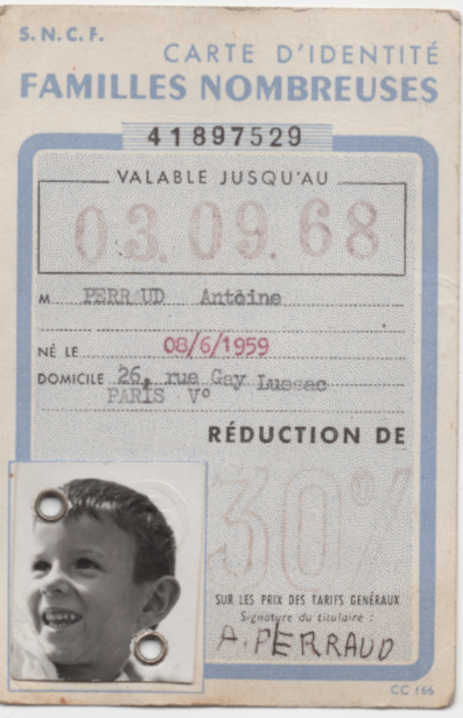 Document émis en 1965