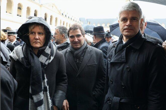 Nadine Morano, Christian Jacob et Laurent Wauquiez. © Reuters