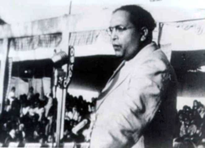 Bhimrao Ramji Ambedkar (1891-1956), leader of the Dalits and anti-discrimination campaigner, who served as India's law minister from 1947–51.