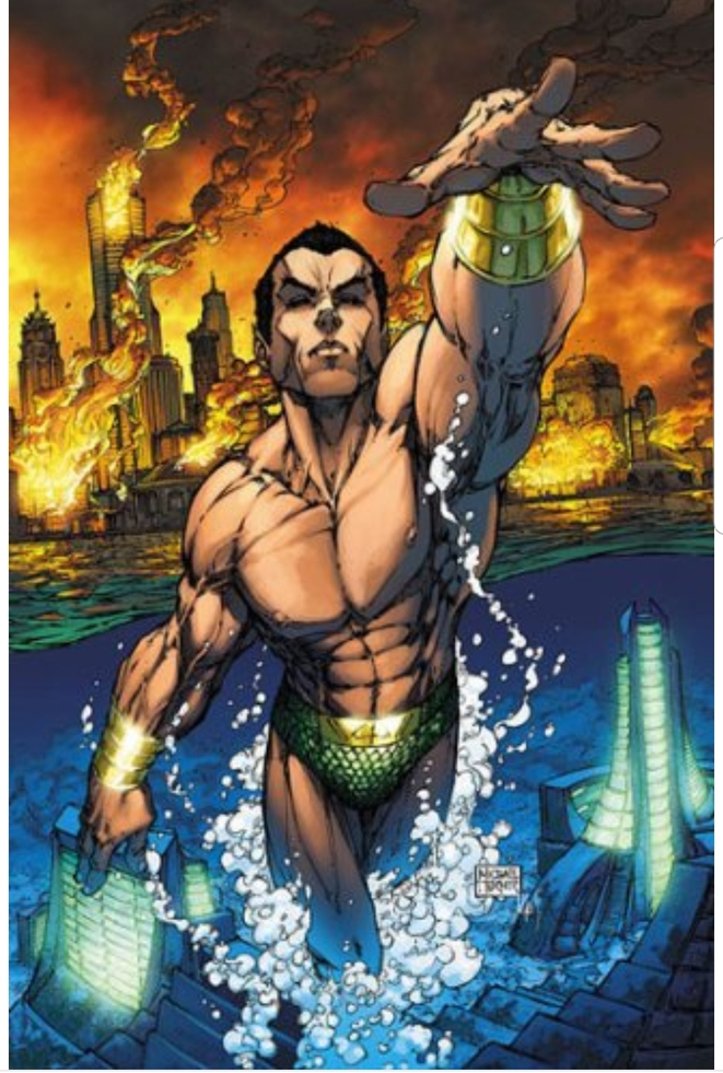 SUBMARINER par Michaël Turner ( RIP 1971-2008 ) for MARVEL Comics.