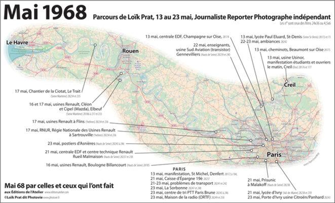 Parcours de Loik Prat,  du 13 au 23 mai, Journaliste Reporter Photographe © Loik Prat,  Journaliste Reporter Photographe
