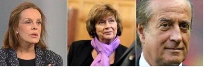 Catherine Nay, Michèle Cotta, Charles Villeneuve