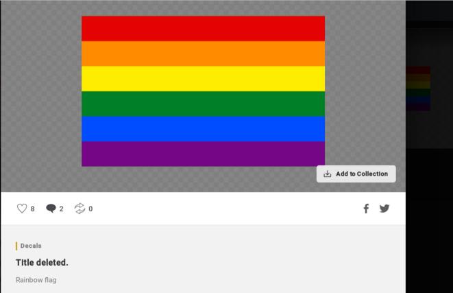 «Title deleted», parce que le titre original, «Gay_flag» était vraiment très offensant