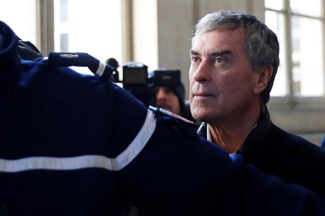 Jérôme Cahuzac, el 12 de febrero de 2018, en la Corte de Apelación de París. © Reuters