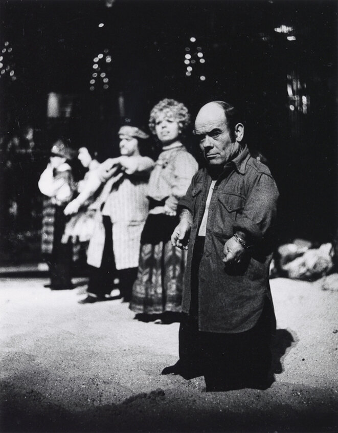 Marcel Guégan dans Turandot -1974 © Gilles Walusinski
