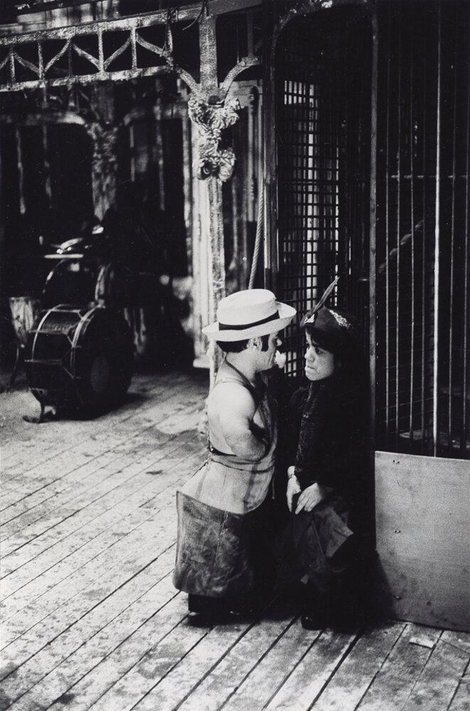 Marcel Guégan et Patricia Hamida dans Turandot -1974 © Gilles Walusinski