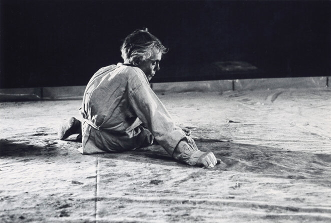 Alfred Baillou dans Tirandot -1974 © Gilles Walusinski