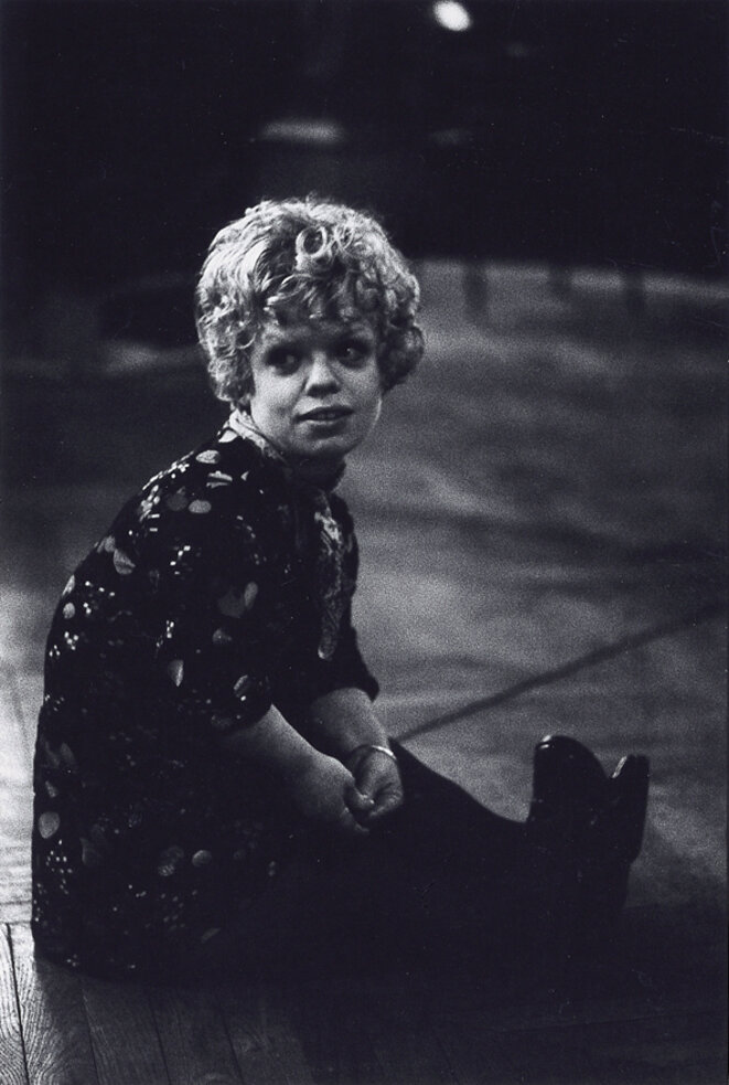 Geneviève Pissabœuf dans Turandot 1974 © Gilles Walusinski
