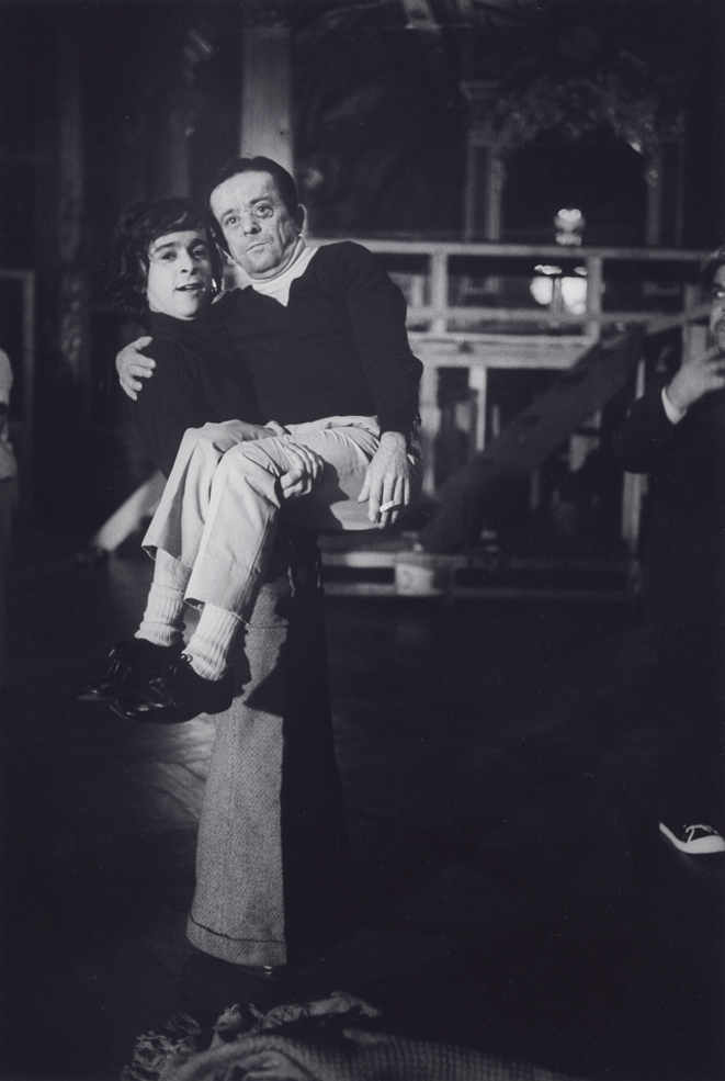 Allam Bouzid et Jean Debove dans Turandot 1974 © Gilles Walusinski