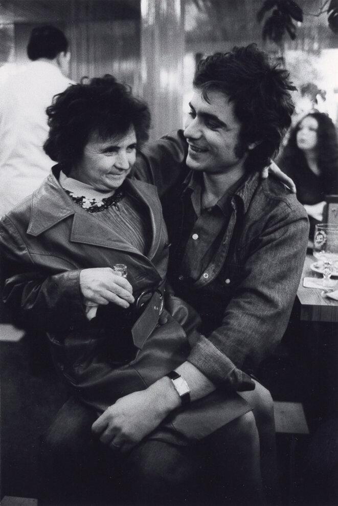 julian Negulesco et Cathy Kitchen - Turandot 1974 © Gilles Walusinski