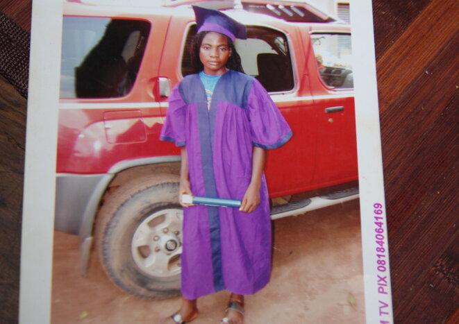 Blessing encore adolescente, au Nigeria. © MM