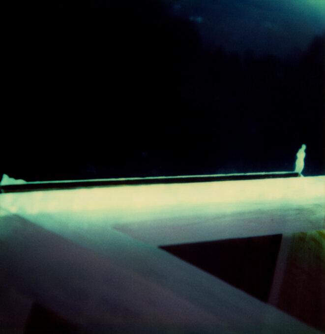 Corinne Mercadier, «Pola 112», glasstype, 1987. © Corinne Mercadier