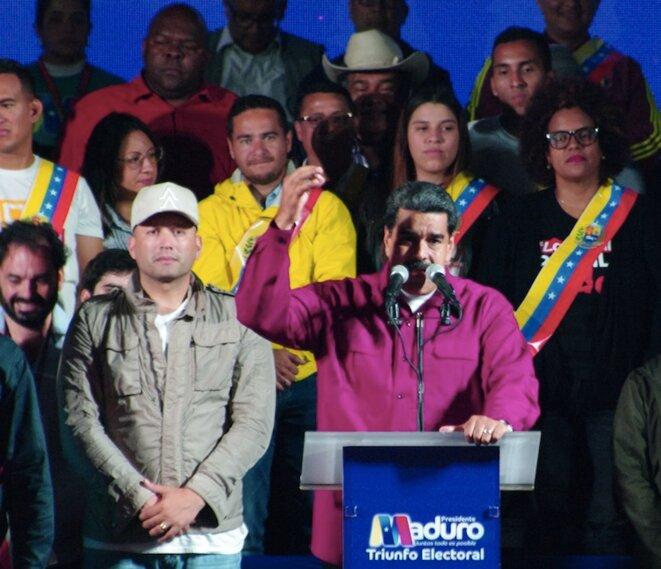 Nicolás Maduro, à Caracas, le 20 mai.