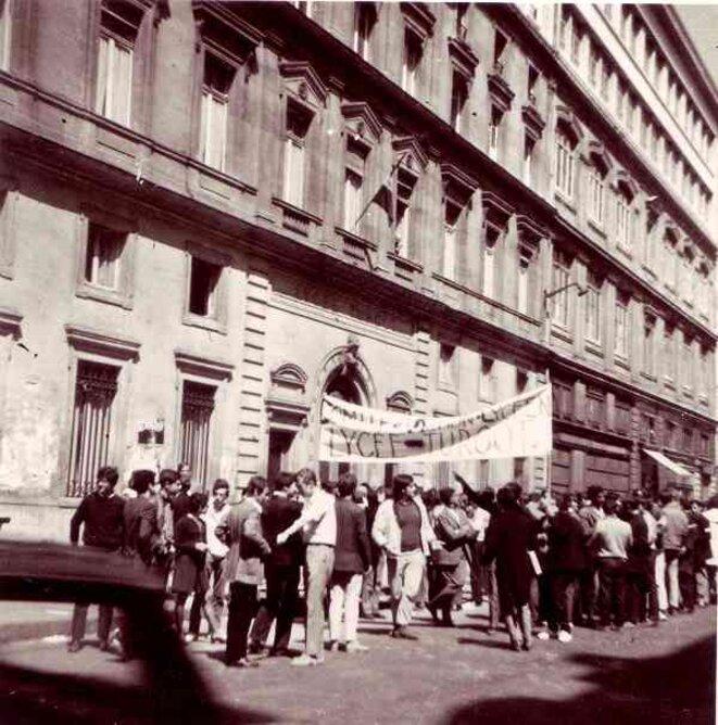 Lycée Turgot 13 mai 1968. © Joseph Morder