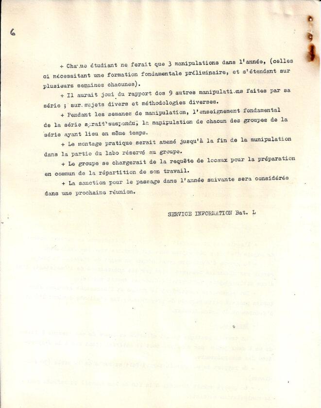 Propositions pour une réorganisation des travaux pratiques © Commission enseignement, faculté des sciences de Jussieu