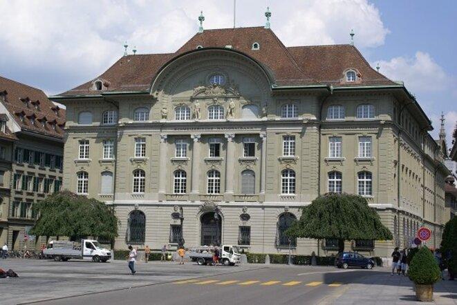 Le siège de la banque nationale suisse, à Berne. © DR
