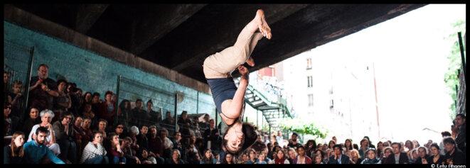 Le festival TempsDanse#2 envahit les rues de Paris © Eetu Ahanen